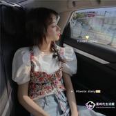 碎花洋裝 氣質無袖氣質2020新款夏季韓版兩件套外穿小吊帶上衣女潮 【星時代生活館】