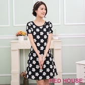 【RED HOUSE-蕾赫斯】滿版花朵洋裝-網路獨家款 夏季優惠