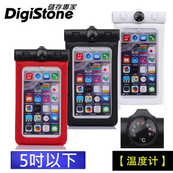 【現折50元+免運費】 手機防水袋/保護套/手機套/可觸控(溫度計型)5吋以下手機-果凍(含溫度計)x1