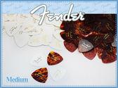 【小麥老師樂器館】彈片 FMT01-02  Fender medium pick 吉他【C36】