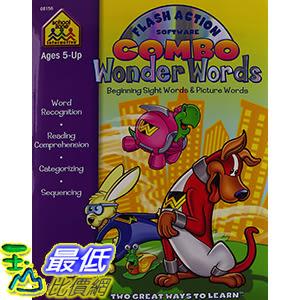 [106美國暢銷兒童軟體] Wonder Words Flash Action Software