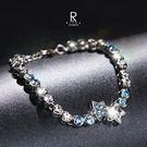 閃耀流星施華洛璀璨星座水晶手鍊