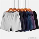 男士睡褲夏季莫代爾棉純棉寬鬆大碼五分家居薄款休閒居家短褲睡褲 印象家品