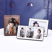 正韓創意婚紗照寶寶相框擺台影樓像框掛墻7寸10寸照片
