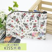 ☆小時候創意屋☆ 迪士尼 KISS米奇 頸掛包 手機包 卡片包 零錢包 證件包 收納包 悠遊卡包 短夾