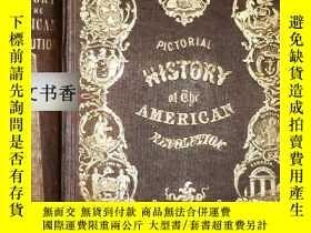 二手書博民逛書店ROBERT罕見SEARS著《美國的革命歷史 》SCARCE豐富