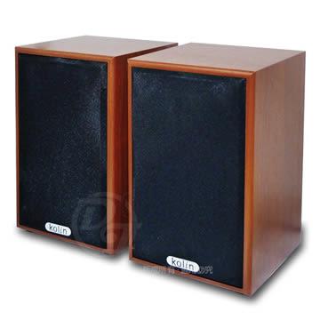 《一打就通》KOLIN歌林全木質立體擴大音箱喇叭 KEB-EH037