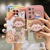 華為手機殼 超萌小女孩適用華為30手機殼p30pro防摔p40硅膠p40pro全包【99免運】