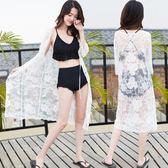 新年禮物-海邊度假外套蕾絲沙灘泳衣罩衫-艾尚精品 艾尚精品