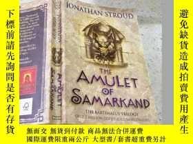 二手書博民逛書店the罕見amulet of samarkand撒馬爾罕的護身符Y200392