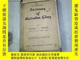 二手書博民逛書店AUSTRALIAN罕見SLANG(民國 外文原版書)11905