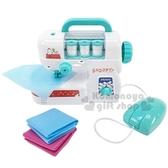 〔小禮堂〕史努比 手提式迷你縫紉機玩具組《綠白》車縫機.兒童玩具.美勞玩具 4994793-07047