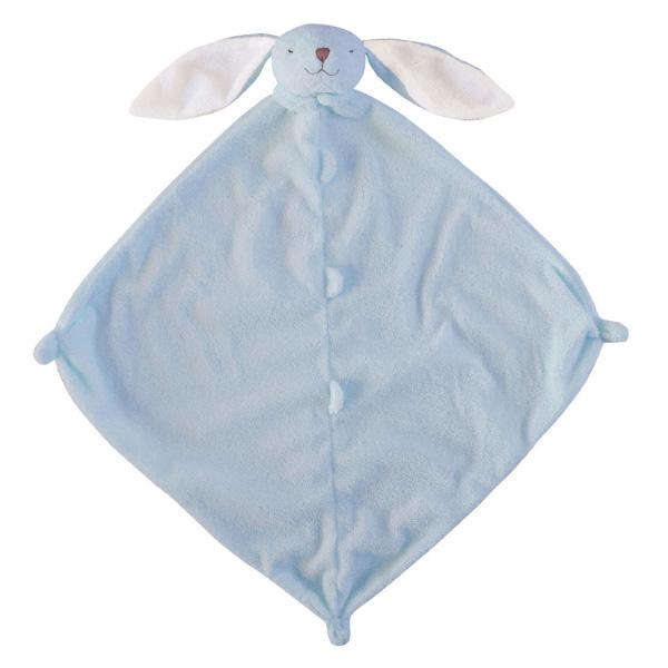 美國Angel Dear 動物嬰兒安撫巾 藍色小兔