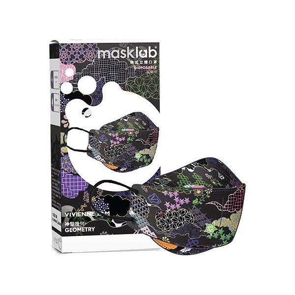 masklab 成人KF韓式立體口罩(盒裝10入)神聖幾何 VIVIENNE TAM x masklab【小三美日】