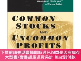 二手書博民逛書店Common罕見Stocks and Uncommon Profits and Other WritingsY