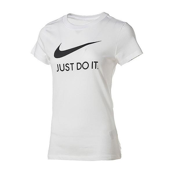 NIKE NSW TEE JDI SLIM 白 女 圓領 棉質 基本款 穿搭 運動 短袖 上衣 CI1384100