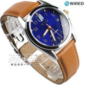 WIRED 限量款 進擊的巨人eren 艾倫聯名錶 特殊錶盒 贈角色徽章 皮帶錶 AY8007X1 VJ42-KH30B