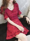 春裝裙子很仙的法國小眾夏季連衣裙女超仙森系仙女裙 炫科技