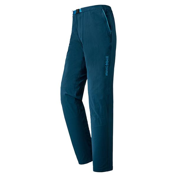 [好也戶外]mont‧bell CLIFF LIGHT PANTS 男款長褲/藍 No.1105572-SLBL