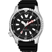 CITIZEN 星辰 PROMASTER 限量200米潛水機械錶-黑/42mm NY0080-12E