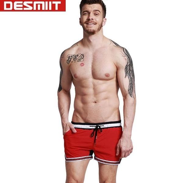 △男短褲△ 3分沙灘短褲 拼色時尚海邊休閒短褲 多色可選 DES_G303