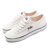Fila 休閒鞋 C917U 白 黑 帆布鞋 女鞋 斐樂 基本款 穿搭推薦 小白鞋 韓國 【ACS】 5C917U133