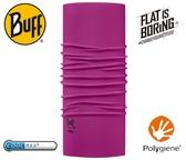 丹大戶外【BUFF】西班牙魔術頭巾 coolmax春夏款抗UV BF111426-610-10-00 素面波森莓