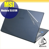 【Ezstick】MSI Modern 15 A11M 二代透氣機身保護貼 DIY 包膜