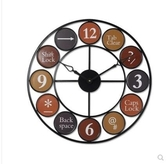 【後起之秀】oft掛鐘工業風美式鄉村復古懷舊餐廳酒吧裝飾鐘錶