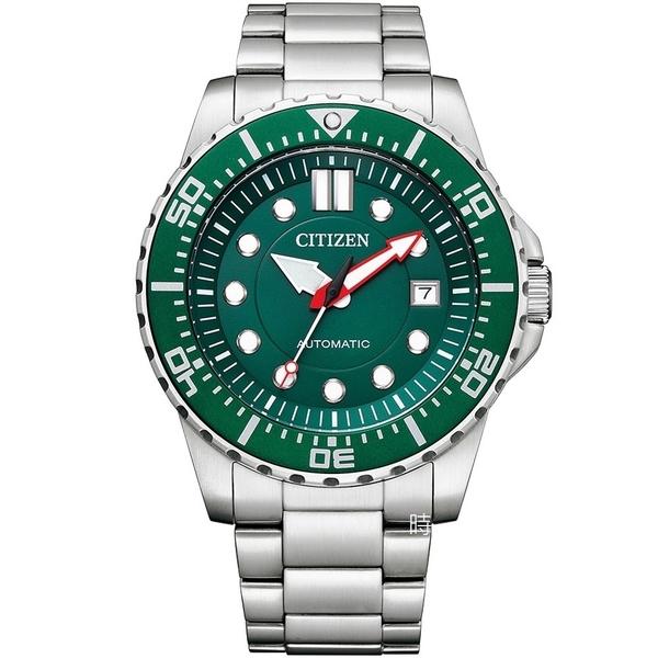 CITIZEN 星辰 綠水鬼風格 機械錶 NJ0129-87X