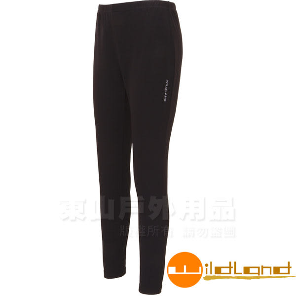 Wildland 荒野 W2658-54黑色中性遠紅外線9分褲