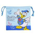 【日本進口正版】唐老鴨 束口袋 收納袋 抽繩束口袋 迪士尼 Disney - 047147