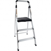 PRO特選三階鋁製輕便寬踏板梯