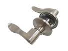 加安牌 水平鎖(有鑰匙 60mm)內側自動解閂 LC2X207 管型板手鎖 磨砂銀 水平把手