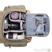 攝影背包 德國TARION攝影包國家地理後背包牛皮帆布休閒相機背包單反相機包 JD【美物居家館】