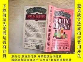二手書博民逛書店COSMETIC罕見INGREDIENTS 化妝品成分Y2030
