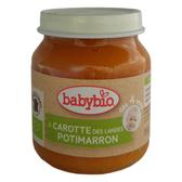 法國倍優 Babybio 有機南瓜紅蘿蔔蔬菜泥-130g