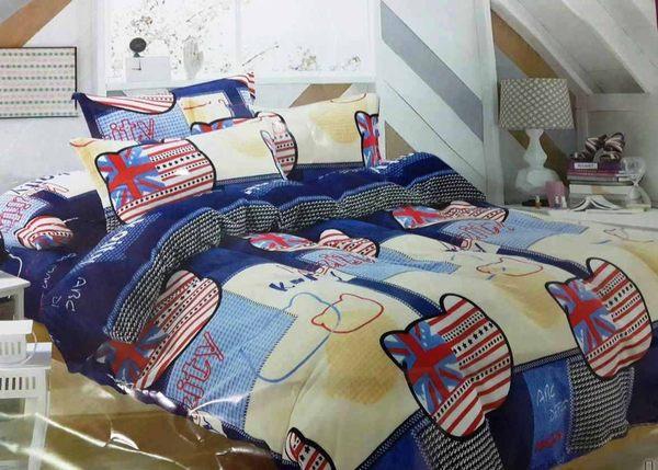 【貝淇小舖】超柔法蘭絨 / 凱蒂寶貝 (單人鋪棉床包+枕套) 超暖熱賣款