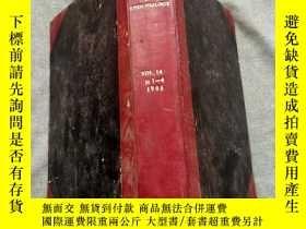 二手書博民逛書店INTERN罕見ATIONAL JOURNAL OF EPIDEMIOLOGY1985 卷14 1-4Y367
