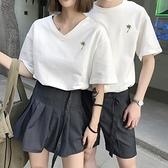 情侶裝夏裝2020新款夏天ins韓版夏季短袖套裝情侶款衣服男T恤 【ifashion·全店免運】