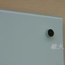 磁性玻璃白板90x120cm(不含筆槽)...