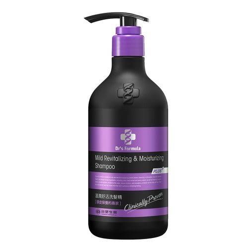 《台塑生醫》Dr's Formula溫潤舒活洗髮精(升級版)580g
