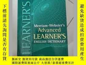 二手書博民逛書店Merriam-Websters罕見Advanced Learn