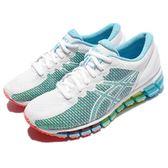 【六折特賣】Asics 慢跑鞋 Gel-Quantum 360 CM 綠 粉紅 白 舒適穩定 運動鞋 女鞋【PUMP306】 T6G6N-0100