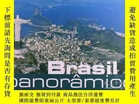 二手書博民逛書店Panoramic罕見Brazil, (Brasil Panor