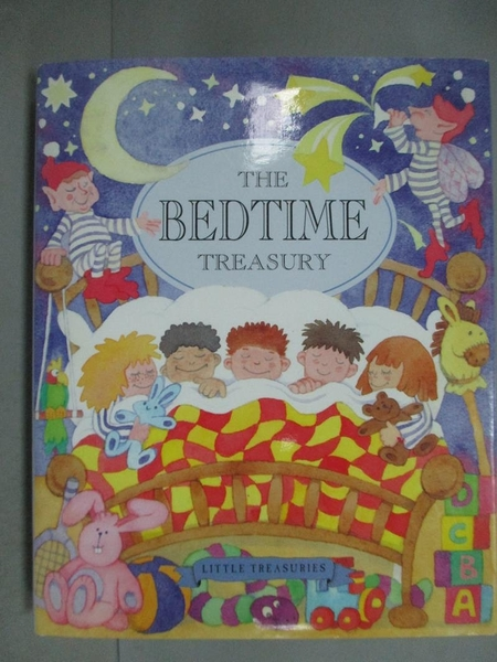 【書寶二手書T4/兒童文學_GGQ】Children s Bedtime Treasury_Parragon, Inco