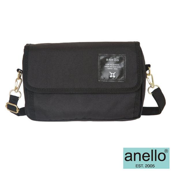 【anello日本銷售量NO.1】2WAY隨身側背包-黑色(AT-H0431BK)