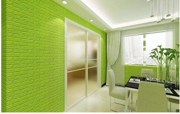 厚1cm【立體磚紋壁紙】韓國3D加厚版仿磚塊防水浮雕牆紙 牆貼 壁貼 有背膠 臥室 客廳 居家 辦公室