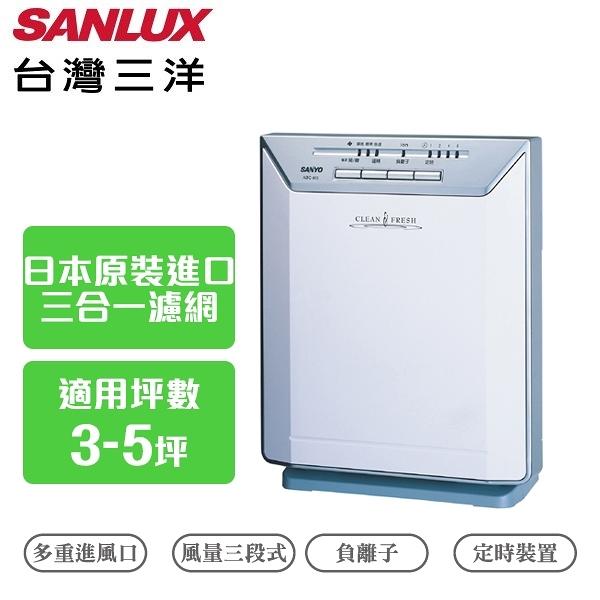 SANLUX 台灣三洋 超薄空氣清淨機 5坪 ABC-M5