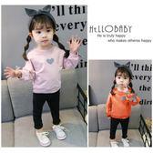 女寶寶長袖t恤1一3歲0純棉女童打底衫秋裝2嬰兒童春秋上衣小童潮4